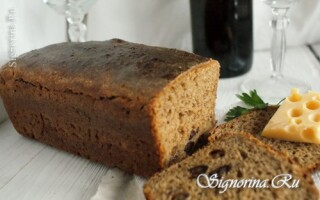Рецепт житнього хліба на заквасці з солодом