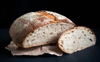 Житньо пшеничний хліб на заквасці рецепт