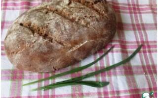 Латгальскій хліб латвійський житній заварний хліб рецепт