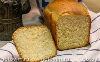 Хліб яєчний в хлібопічці рецепти