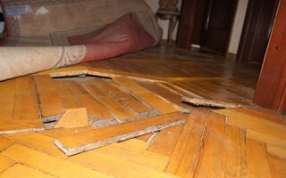 як відремонтувати паркетну підлогу своїми руками без циклювальної машини