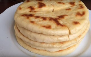 Турецький хліб базлама на кефірі рецепт